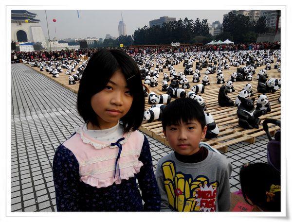 「1600貓熊世界之旅—台北」紙貓熊展[中正紀念堂]13