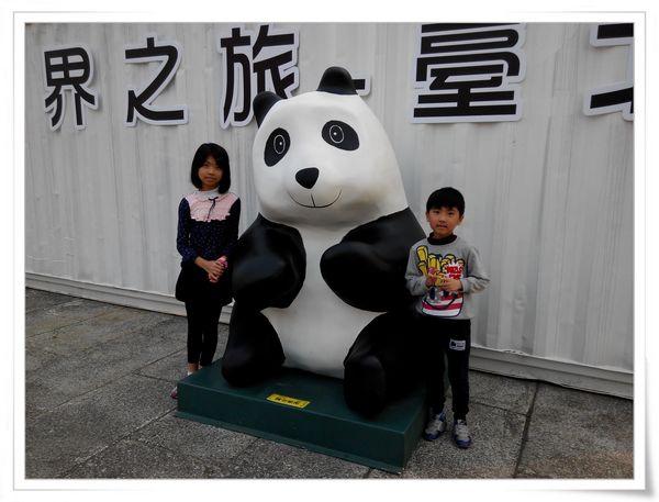 「1600貓熊世界之旅—台北」紙貓熊展[中正紀念堂]14