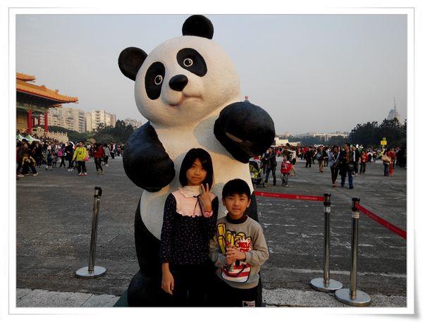「1600貓熊世界之旅—台北」紙貓熊展[中正紀念堂]16