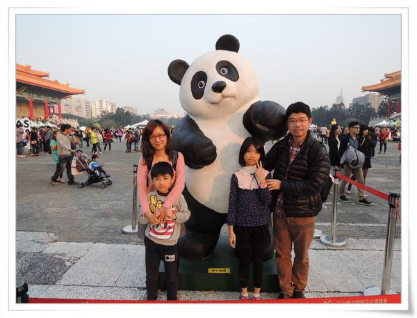 「1600貓熊世界之旅—台北」紙貓熊展[中正紀念堂]17