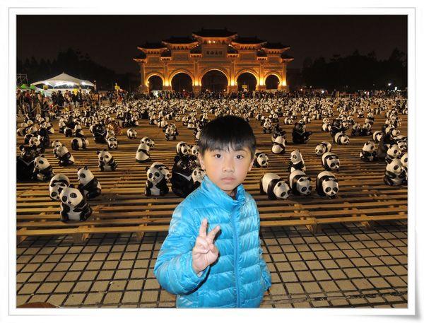「1600貓熊世界之旅—台北」紙貓熊展[中正紀念堂]23