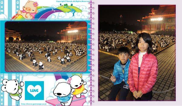 「1600貓熊世界之旅—台北」紙貓熊展[中正紀念堂]26