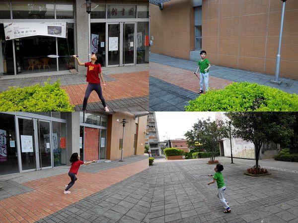 打羽毛球@華夏技術學院3