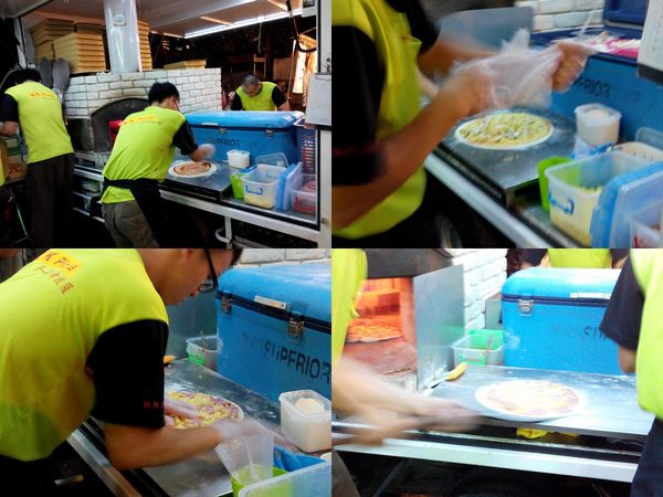 KK手工窯烤Pizza 披薩[中和南勢角捷運站]4
