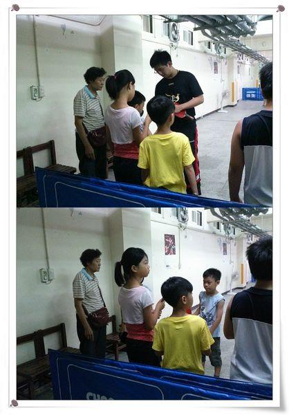 復興國小桌球隊暑假育樂營第一週1