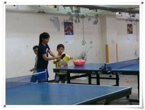 復興國小桌球隊暑假育樂營第一週3