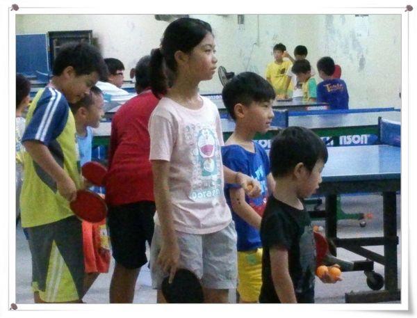 復興國小桌球隊暑假育樂營第一週5