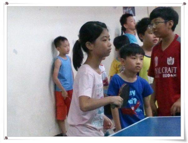 復興國小桌球隊暑假育樂營第一週6