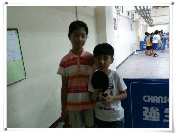 復興國小桌球隊暑假育樂營第一週8