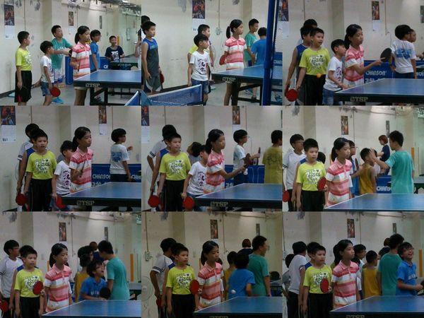 復興國小桌球隊暑假育樂營第一週9