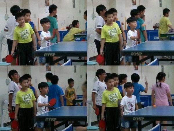 復興國小桌球隊暑假育樂營第一週10