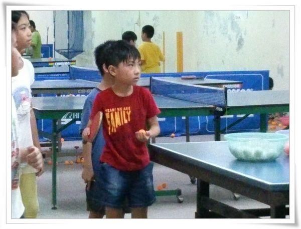 復興國小桌球隊暑假育樂營第二週1