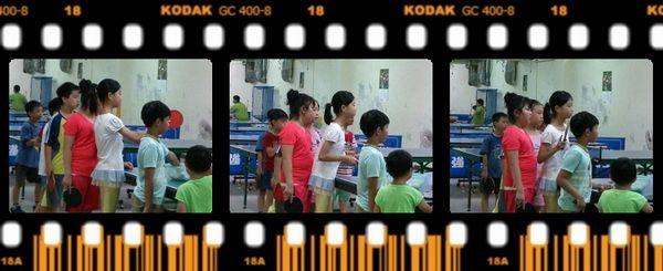 復興國小桌球隊暑假育樂營第二週2
