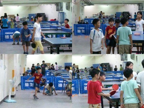 復興國小桌球隊暑假育樂營第二週3