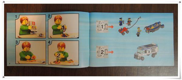 LEGO樂高CITY城市系列60043囚犯運輸車[恆宇八歲生日禮物]4