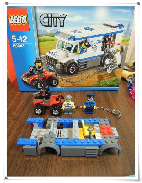 LEGO樂高CITY城市系列60043囚犯運輸車[恆宇八歲生日禮物]9
