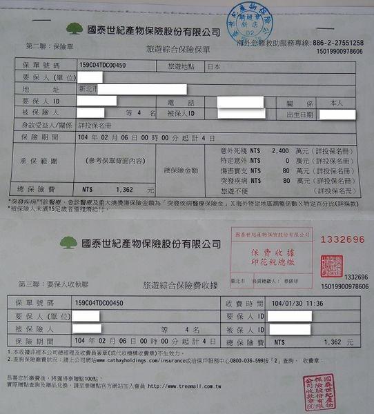 日本大阪奈良四天三夜自助旅行[行前準備篇]9