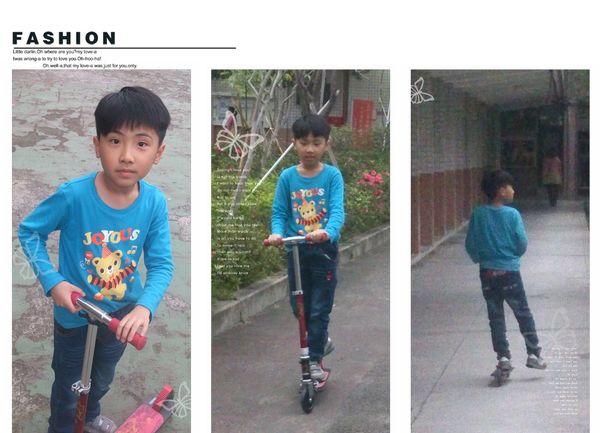 玩滑板車和打羽毛球@華夏科技大學6