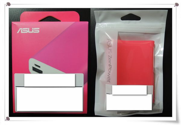 ASUS ZenPower 桃紅色[PowerBank 9600mA]2