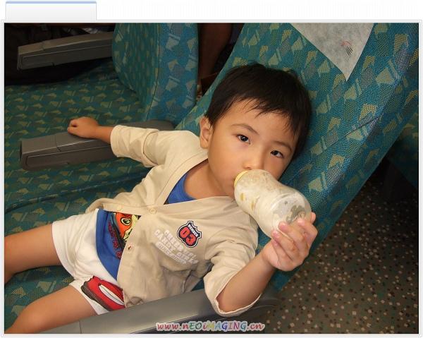 坐高鐵回台南過暑假啦.jpg