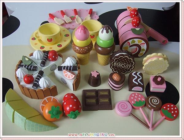 Mother Garden木製草莓歡樂巧克力下午茶蛋糕點心組5.jpg