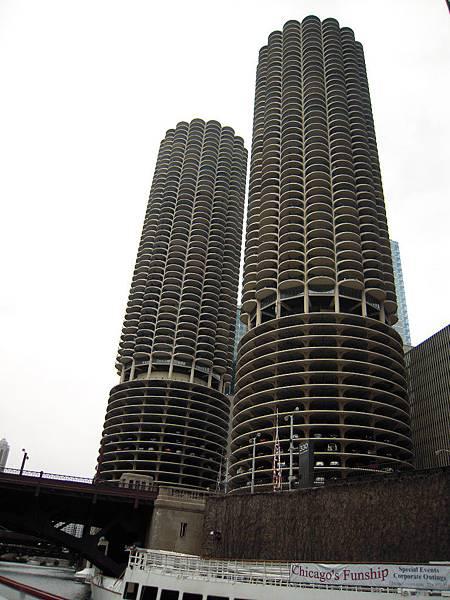 Marina City-玉米大樓