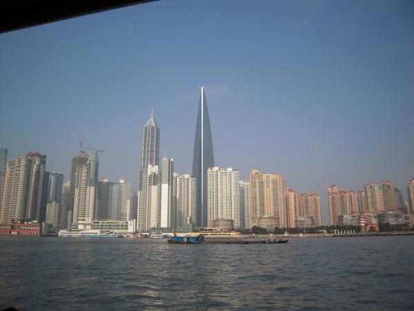 坐船到浦東