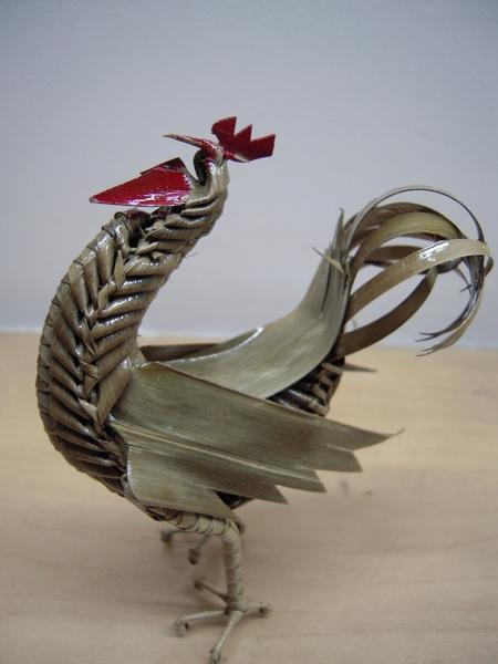 豫園買的粽葉雞