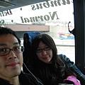 搭乘MEGA巴士前往芝加哥囉!