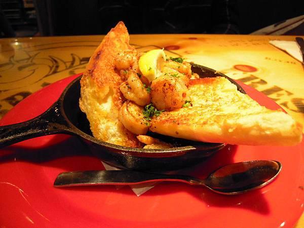 """很好吃的""""Cajun Shrimp""""-$8.99"""