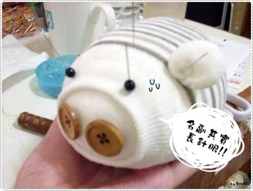 小豬襪子娃娃
