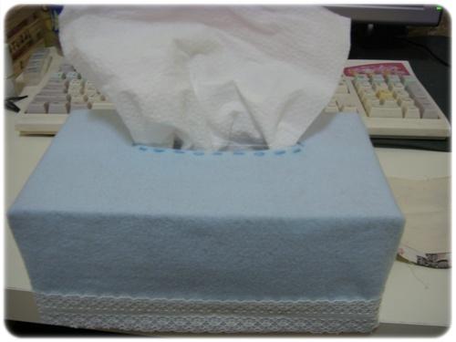 不織布面紙盒