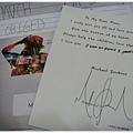 版主自製送給MJ迷的卡片
