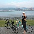 八里左岸自行車道真的風景很好