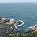 海岬上的涼亭所見...還算不負我們爬這麼久