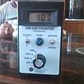 負離子測量表