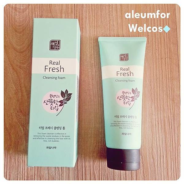 Real Fresh Cleansing Foam 真實清新洗面乳