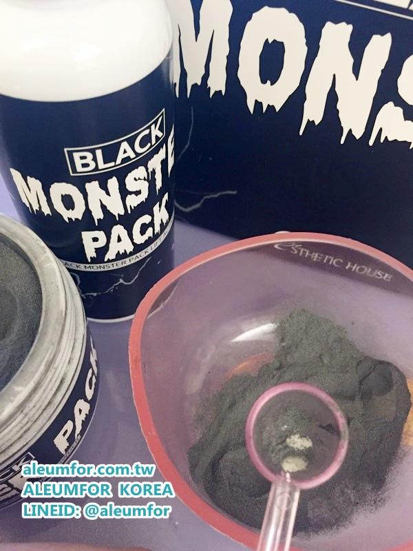 ESTHETIC HOUSE 黑殭屍面膜 BLACK MONSTER PACK