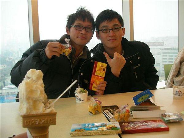 新竹SOGO吃冰