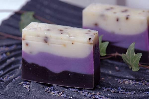 薰衣草紫草精油手工皂