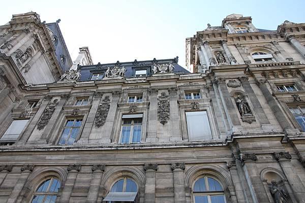 巴黎-巴黎市政廳(Hotel de ville)
