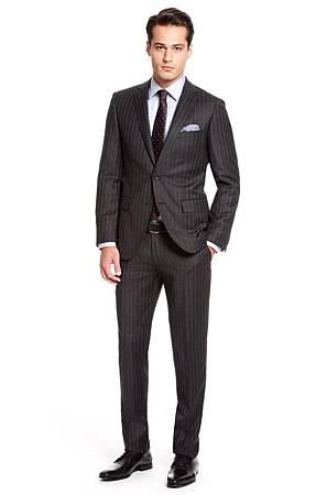 西装西装半身头像绅士