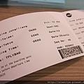 酷航的登機證..真的很環保