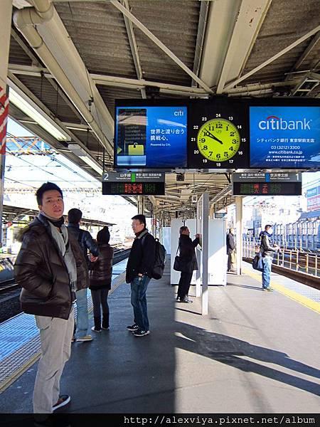 第二日旅程 從上野站出發