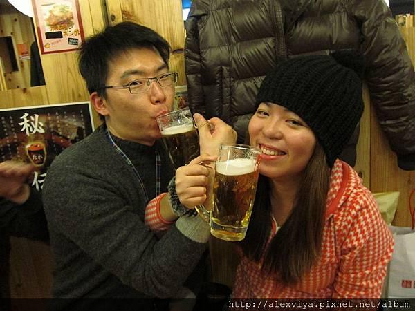 在日本求婚的新人
