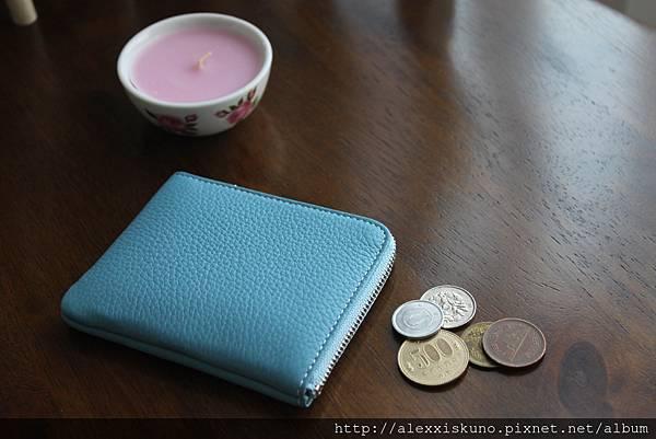 REFINE 零錢包_Ice Blue