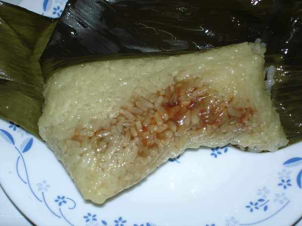 熱騰騰的粽子