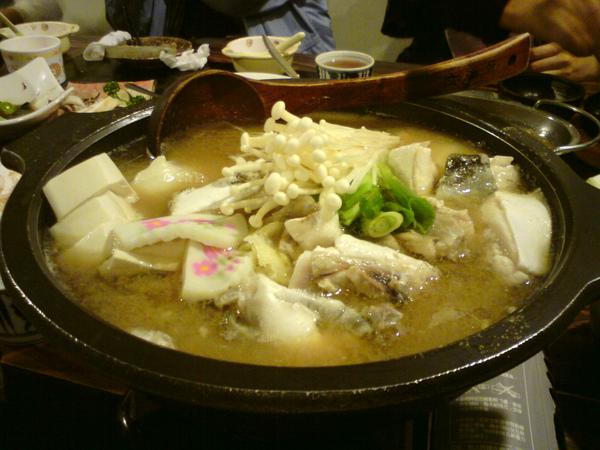 紅魽魚頭味噌湯