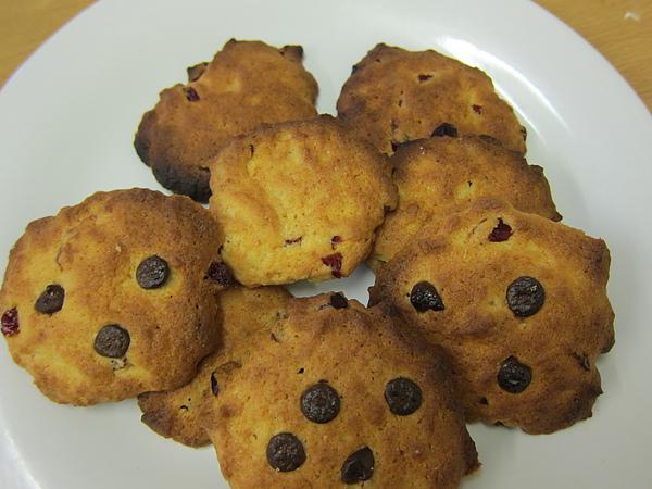 蔓越莓餅乾(有巧克力豆)