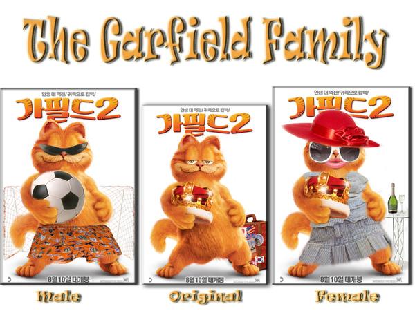 garfield family